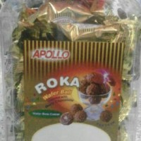 Apolo ROKA Wafer Ball Covered with Nutty Chocolate