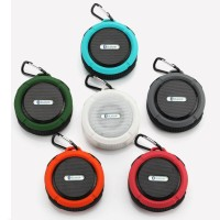 High Quality Wireless Waterproof Portable Bluetooth Speaker Suction Cu