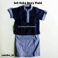 Setelan Baju Koko Anak Baby Boy Sarung Instan