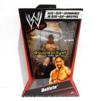 WWE BATISTA ACTION FIGURE MATTEL ELITE 2 (MOC) / MAINAN WWE