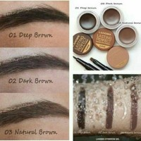 Eyebrow cream tint & eyeliner pen with brow brush