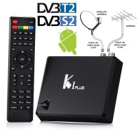harga Receiver TV Digital KI K1 PLUS Android 5.1 TV Box 4K STB DVB-S2 DVB-T2 Tokopedia.com