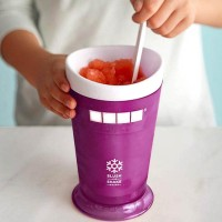 ZOKU Ice Cream Smoothie Milkshake Maker Cup Gelas Pembuat Es - Purple