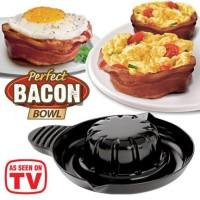 alat pembuat pancake isi Perfect pan cake Bacon Bowl kue roti teflon