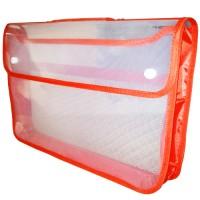 Map Plastik Zipper Bag Kancing X-One atk