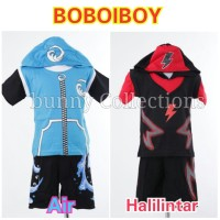 Stelan Boboiboy Anak - Baju Boboiboy Anak - 100% Katun (2-7thn)