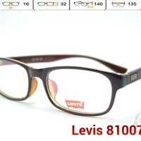 FRAME KACAMATA - LEVIS 81007 - (baca minus silindris) Pria   Wanita 390467f798