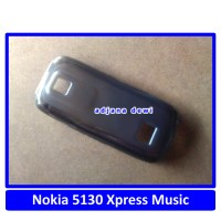 Silikon Microsoft Nokia 5130 XpressMusic Soft Jelly Cover Case Hitam