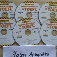 CD Audio Barron's Practice Exercises For The TOEFL TEST 7th Edition