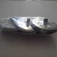 Tutup Gelas Stainless Steel