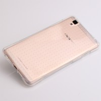 Soft Case Ultra Thin Clear Casing HP Oppo R7s R 7s Silikon Rubber TPU