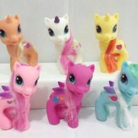 harga Mainan Boneka Figure/Miniatur/Figurin/Miniatur/Pajangan My Little Pony Tokopedia.com