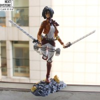 [Figure Anime] PVC Mikasa Ackerman Attack On Titan