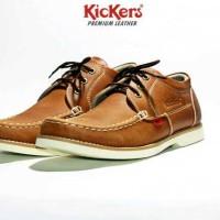 sepatu kickers super kulit asli (39-43)