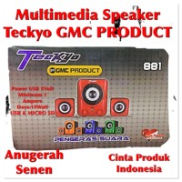 Speaker Teckyo GMC