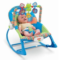 harga Bouncer Fisher Price Infant To Toddler Rocker Blue Tokopedia.com