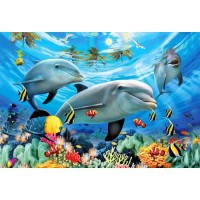 Keset/doormat Printing Rosanna Motif Dolphin