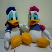Set 2 Boneka Couple Donald Deasy Duck Donal Desi Bebek Sepasang
