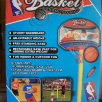 MAINAN ANAK RING TIANG BASKET SET - basketball set sport - laki laki