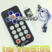 kit module 17 key remote kontrol