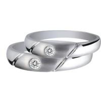 Cincin Kawin cincin tunangan pernikahan silver simpel polos