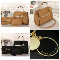 harga tas import Fashion Korea 3in1 ck cnk Charles and keith from batam Tokopedia.com