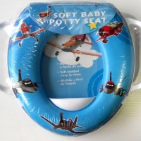 Toilet Training - Soft Baby Potty Seat Handle Karakter Planes