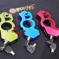 Griplock Grip Lock Cnc Kunci Handle Rem Gembok Pengaman Stang Motor