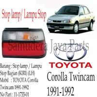 harga STOP LAMP/LAMPU STOP TOYOTA COROLLA TWINCAM 1991-1992 LH Tokopedia.com
