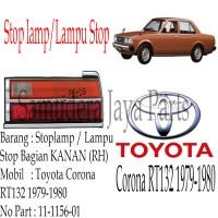 STOP LAMP/LAMPU STOP TOYOTA CORONA RT132 1979-1980 RH