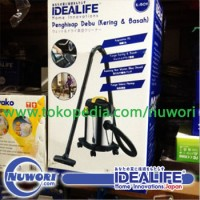 harga Wet & Dry Vacuum Cleaner Idealife IL-150V Tokopedia.com