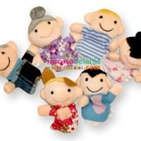 Harga mainan anak hobi boneka jari keluarga isi | WIKIPRICE INDONESIA