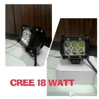 LED LAMPU MOTOR / MOBIL , CREE OFFROAD 18 WATT , SOROT FOKUS