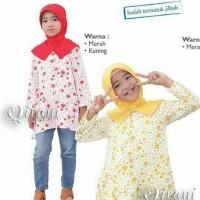 Qirani QK 78 / baju muslim anak + jilbab anak