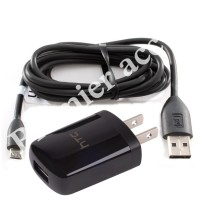HTC TC U250 Travel Charger Micro USB - Hitam
