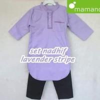 Baju Koko Anak Set Nadhif uk L Lavender