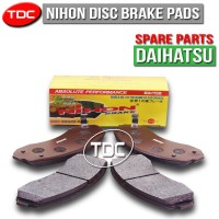 Nihon Brake Pad Ayla Manual Thn'2013 Front Daihatsu Kampas Rem Depan