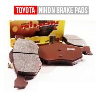 Nihon Brake Pad Corolla,Corona,Soluna Front Toyota Kampas Rem Depan