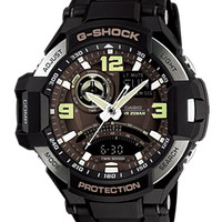Casio G-Shock Original Double Time Casio Original GA-1000-1B Jam Pria