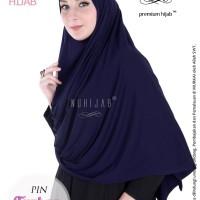 Jual Jilbab Panjang Instan Pashmina Syari Nyaman Adem Nuhijab PIN Turban Murah