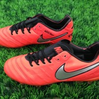 Sepatu Bola Nike Tiempo Legend Vi Light Crimson