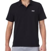 Polo Shirt / Kaos Kerah Under Armour [ Black ]