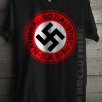harga Kaos Distro/t-shirt Distro/sablonkaos86/nazi Tokopedia.com