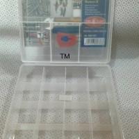 Tool Box - Box 20 Sekat 2susun - Merk Niken by Owl Plast