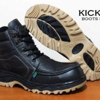 harga Sepatu Touring Pria Kickers French Boots - FREE 1PASANG KAOS KAKI Tokopedia.com