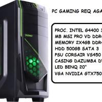PC GAMING SKYLAKE REQ AGAN ANTONIUS GIOVANNI
