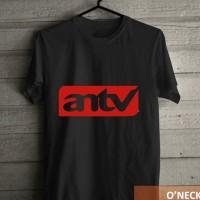 Kaos Distro Motif Stasiun Televisi ANTV Murah