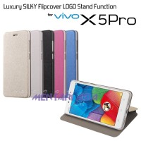 Flipcover VIVO X5 PRO : Luxury SILKY Flipcover LOGO Stand Function