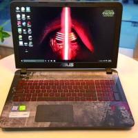 Garskin Laptop Full Body Asus X550dp Motif Star Wars Free 1 Garskin Hp