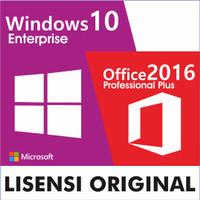 Lisensi Windows 10 Enterprise + Office Pro Plus 2016